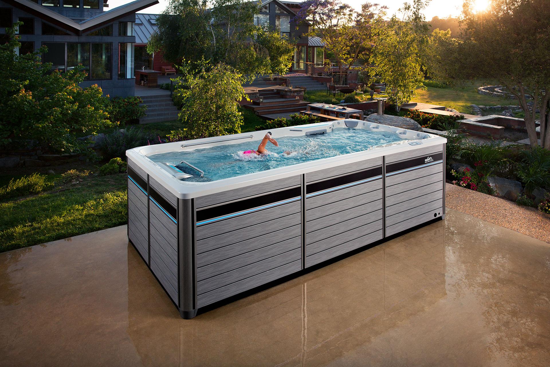 E500 Endless Pools Swim Spa Endless Pools Fitness Systems