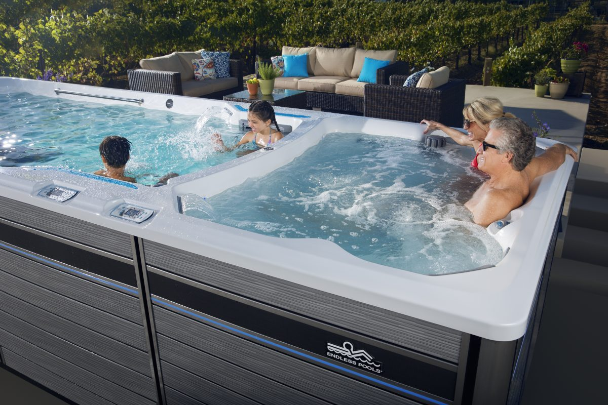 E2000 Swim Spa Endless Pools 174 Fitness Systems